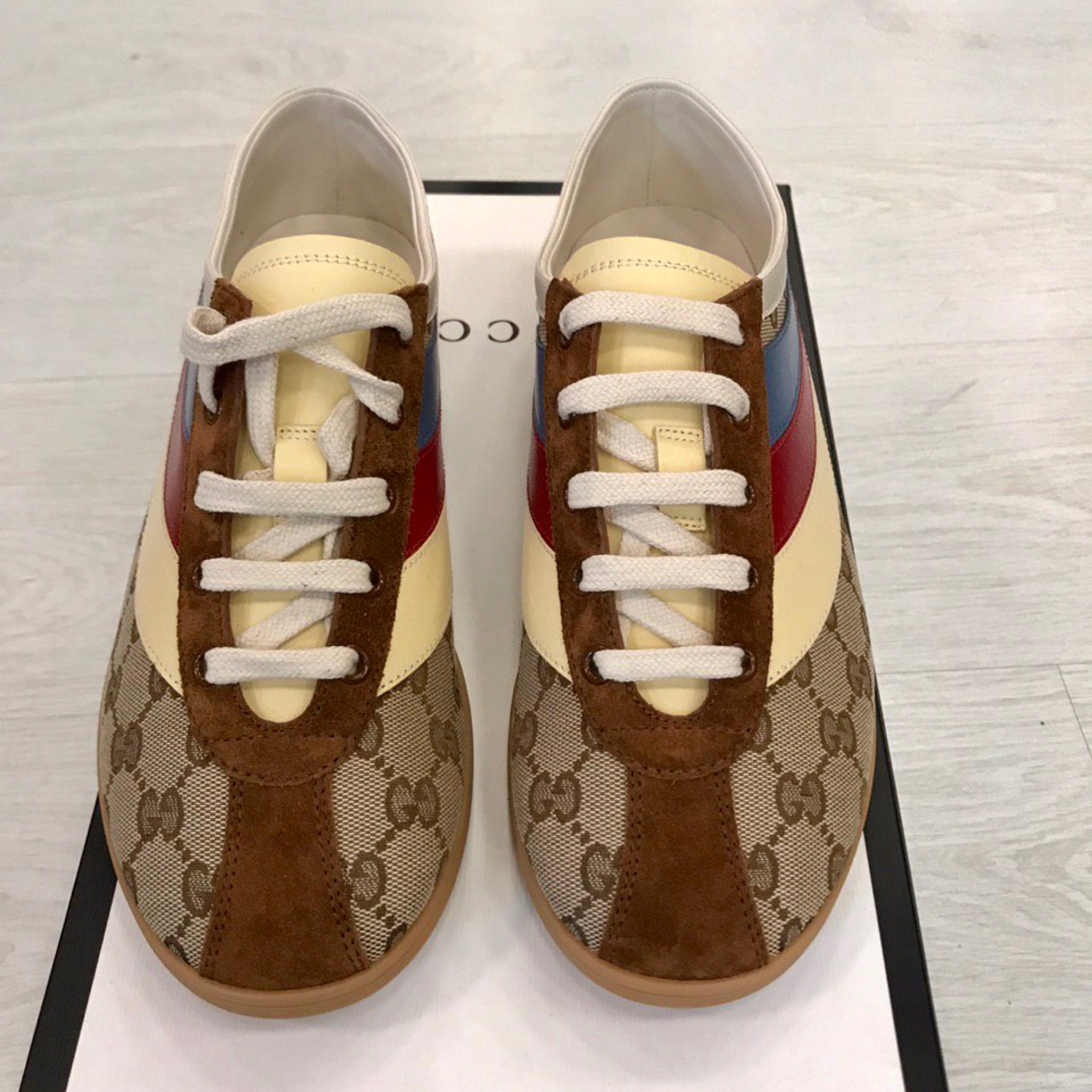 675d33eb6 Gucci Gucci Men's Falacer Gg Sneakers. US 7.5