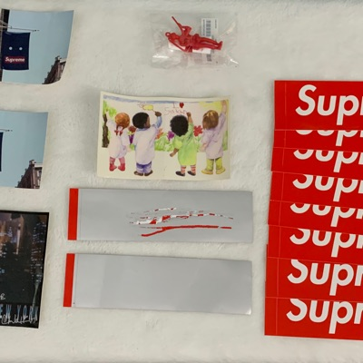 Supreme Sticker And Accessories Collection