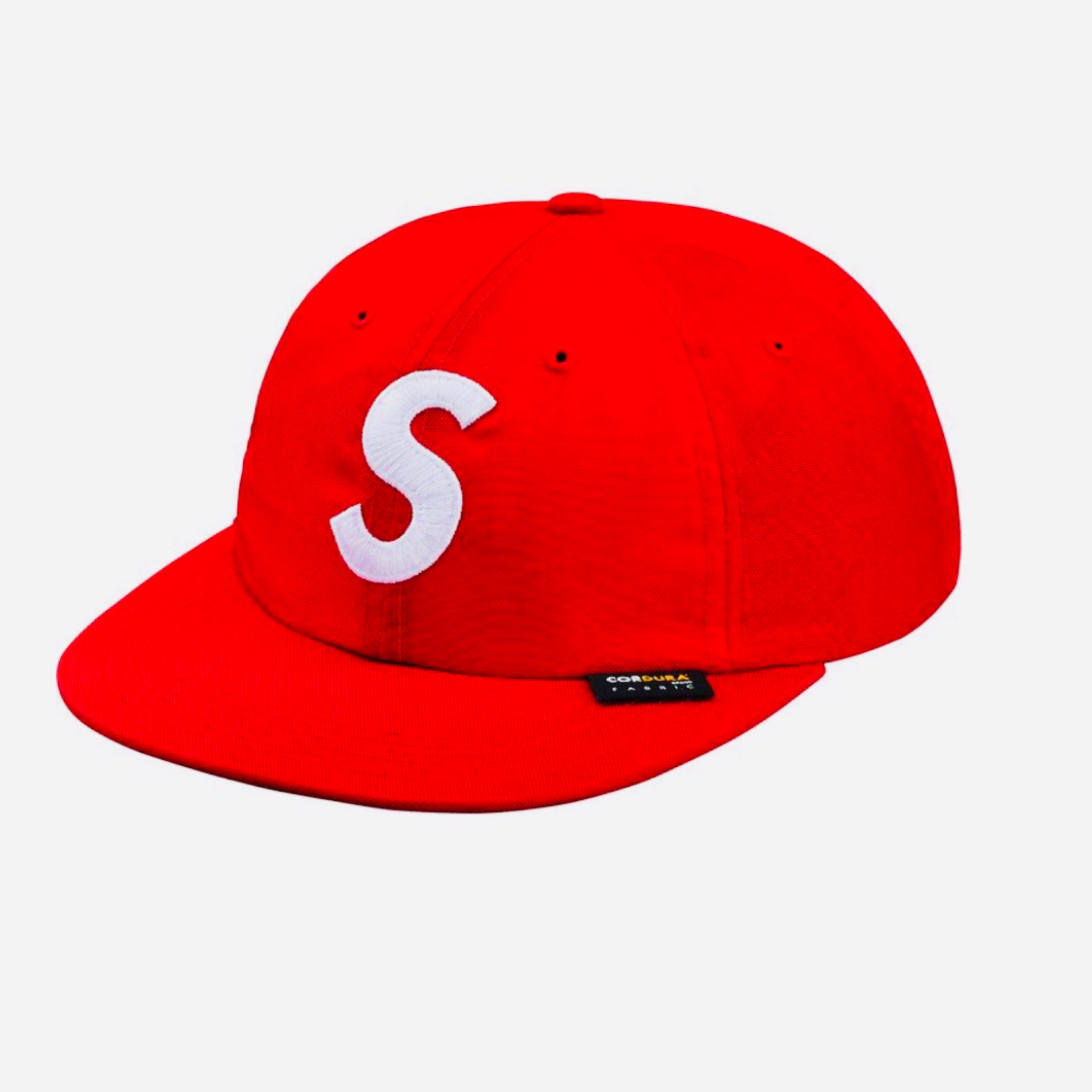 Supreme Cordura S Logo 6-Panel Red