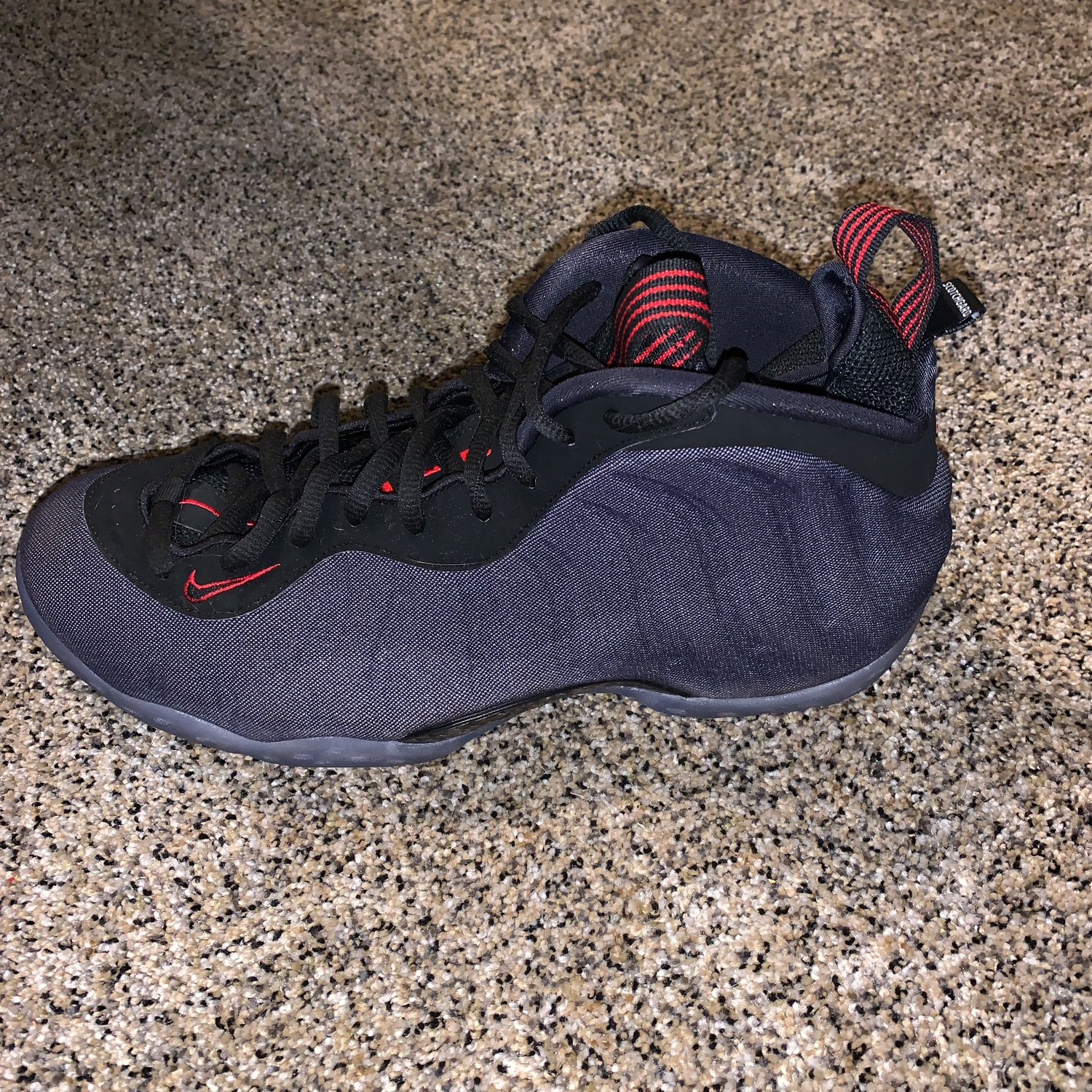 "big sale d3097 15714 Nike Foamposite ""Denim"""