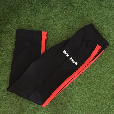 Palm Angels Track Pants Red And Black