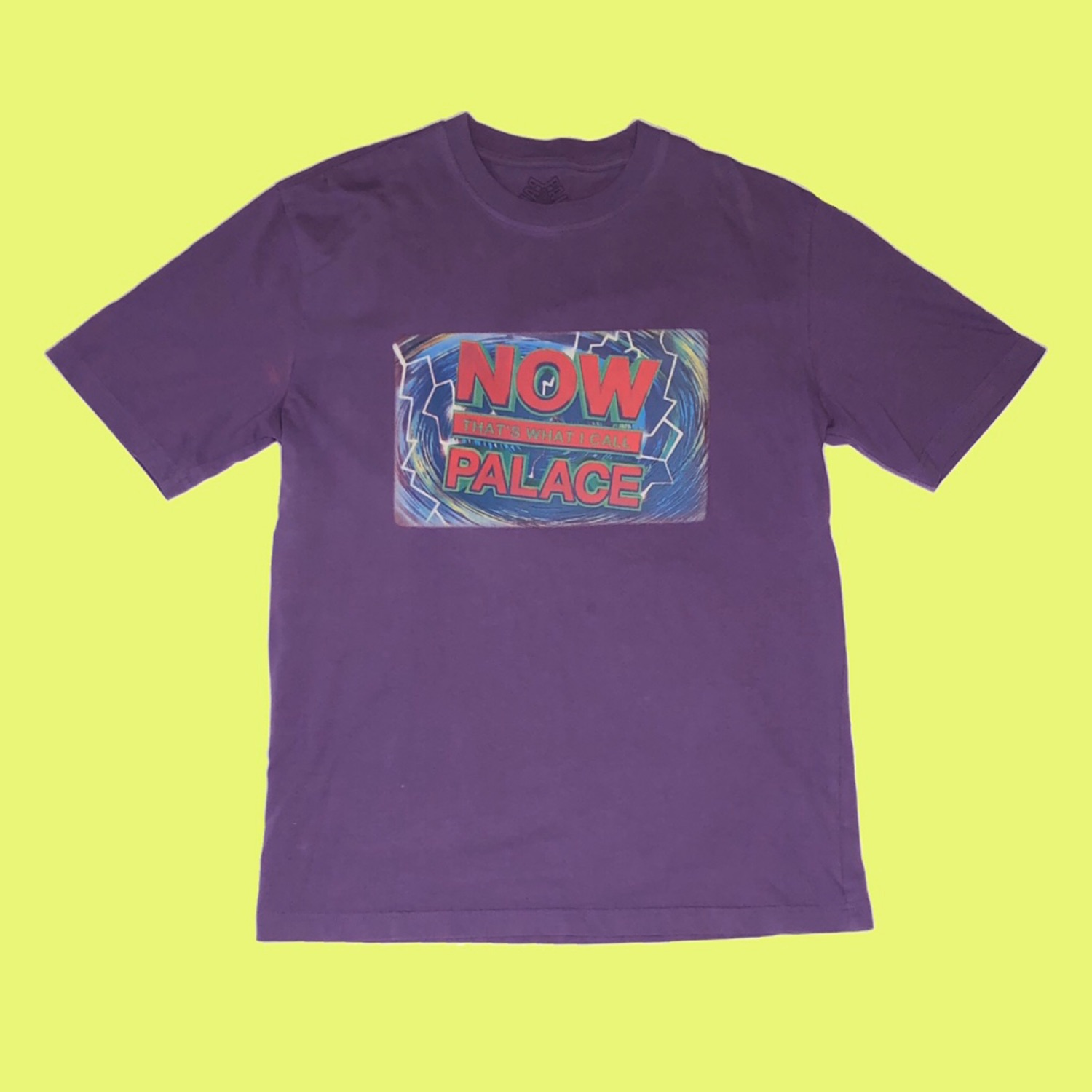 Palace Now That's What I Call Palace T-Shirt Purple