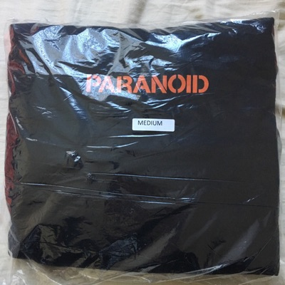 Assc Undefeated Paranoid Hoodie Black M