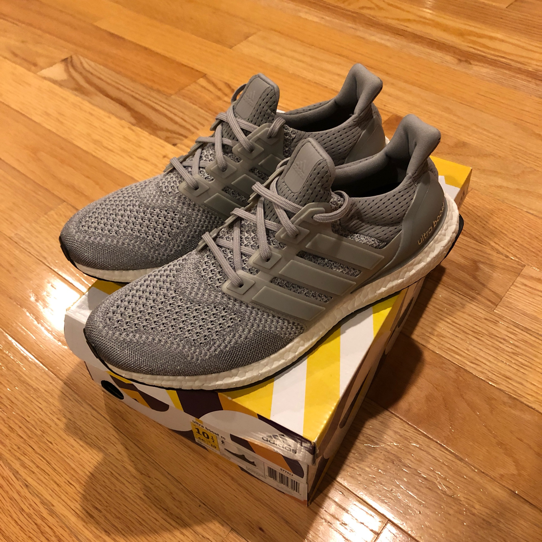 purchase cheap ebae5 6bd28 Adidas Ultra Boost 1.0 Og Limited Silver Metallic