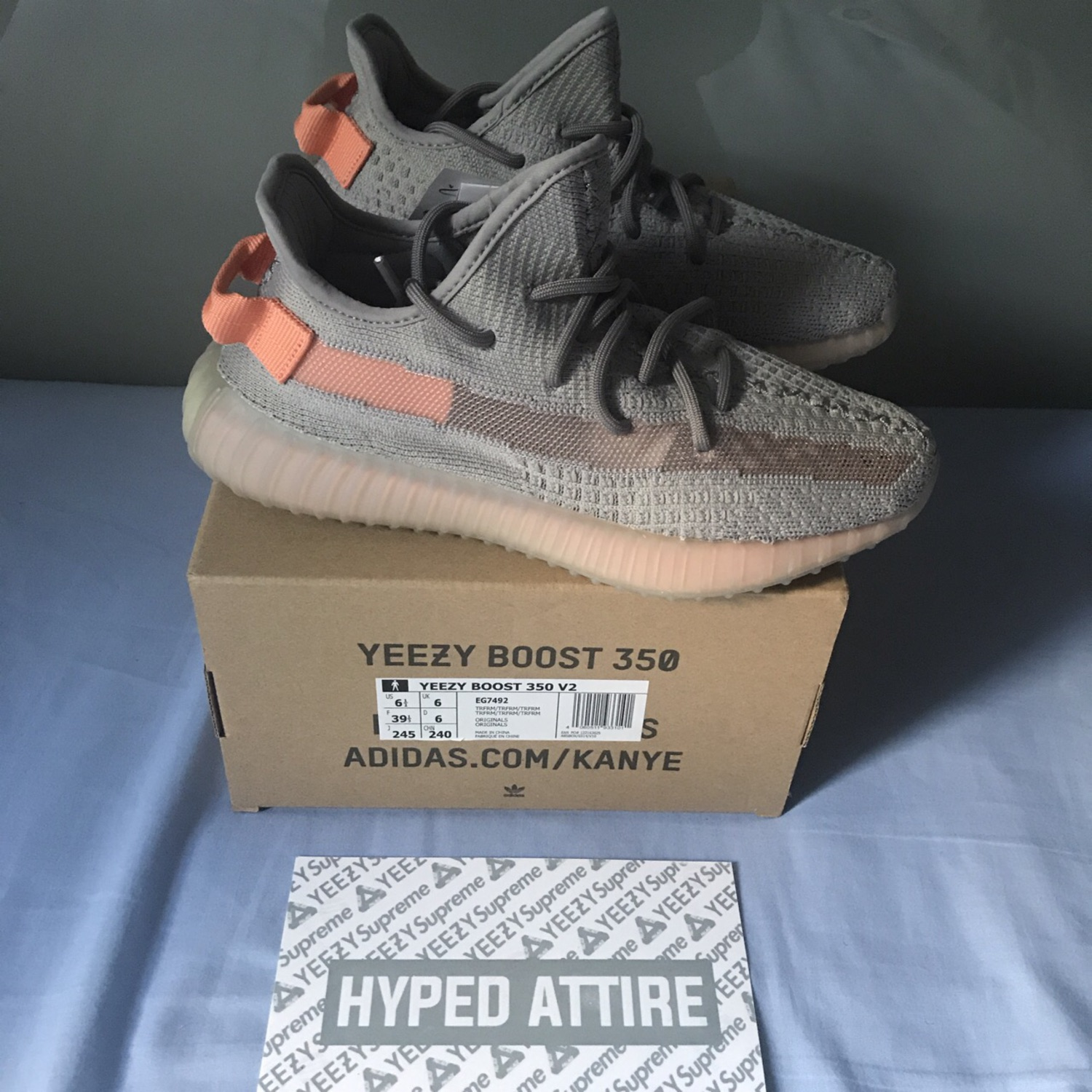 wholesale dealer 4937d 4ae3d Brand New Adidas Yeezy Boost 350 V2 Trfrm In Uk 6