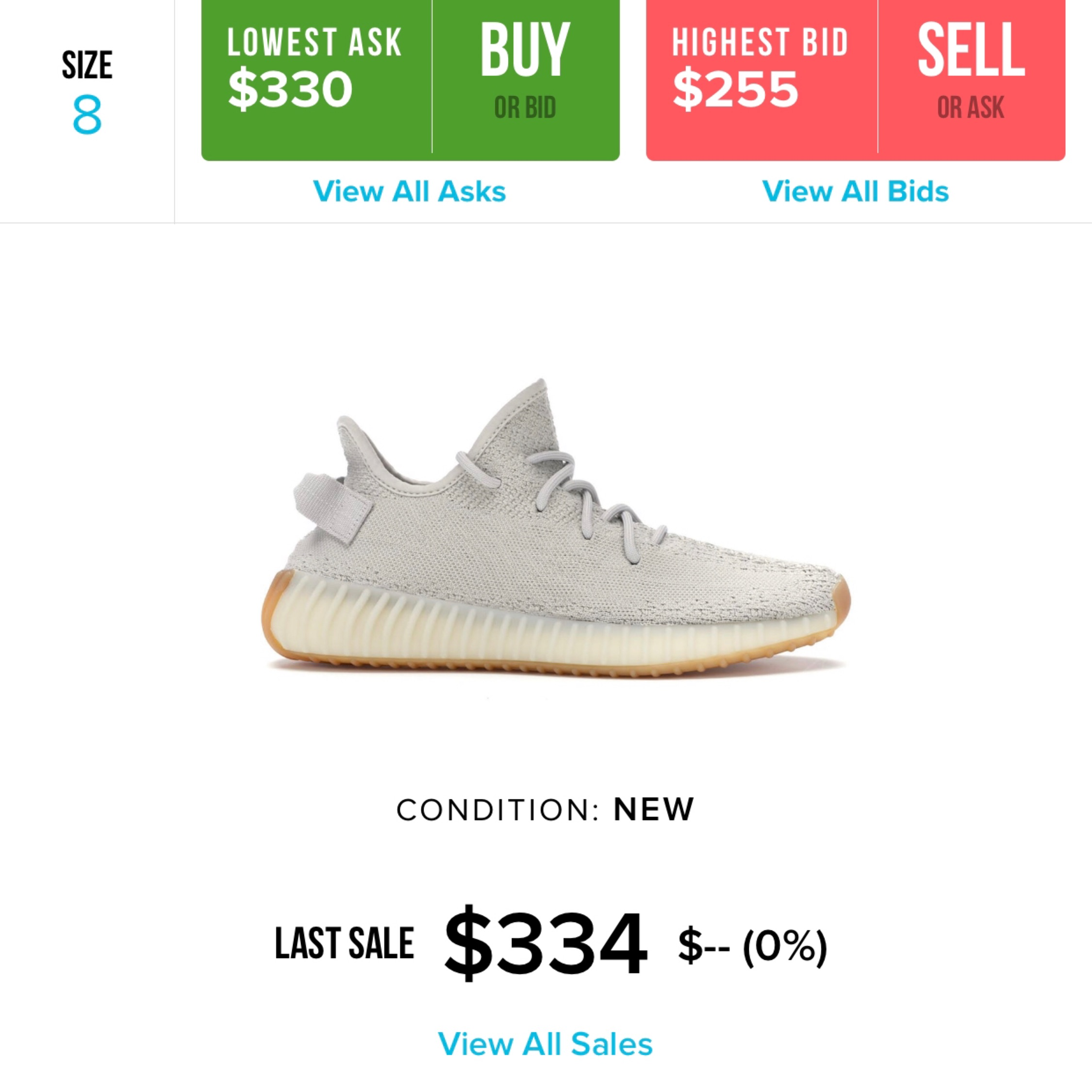 separation shoes 5efdd a7193 Yeezy Boost 350 V2 Sesame