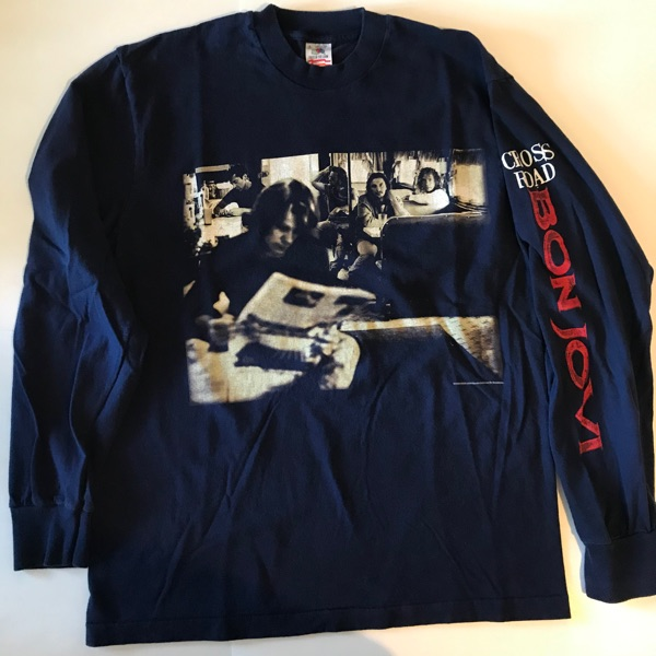 1994 Bon Jovi Cross Road Long Sleeve Band T Shirt