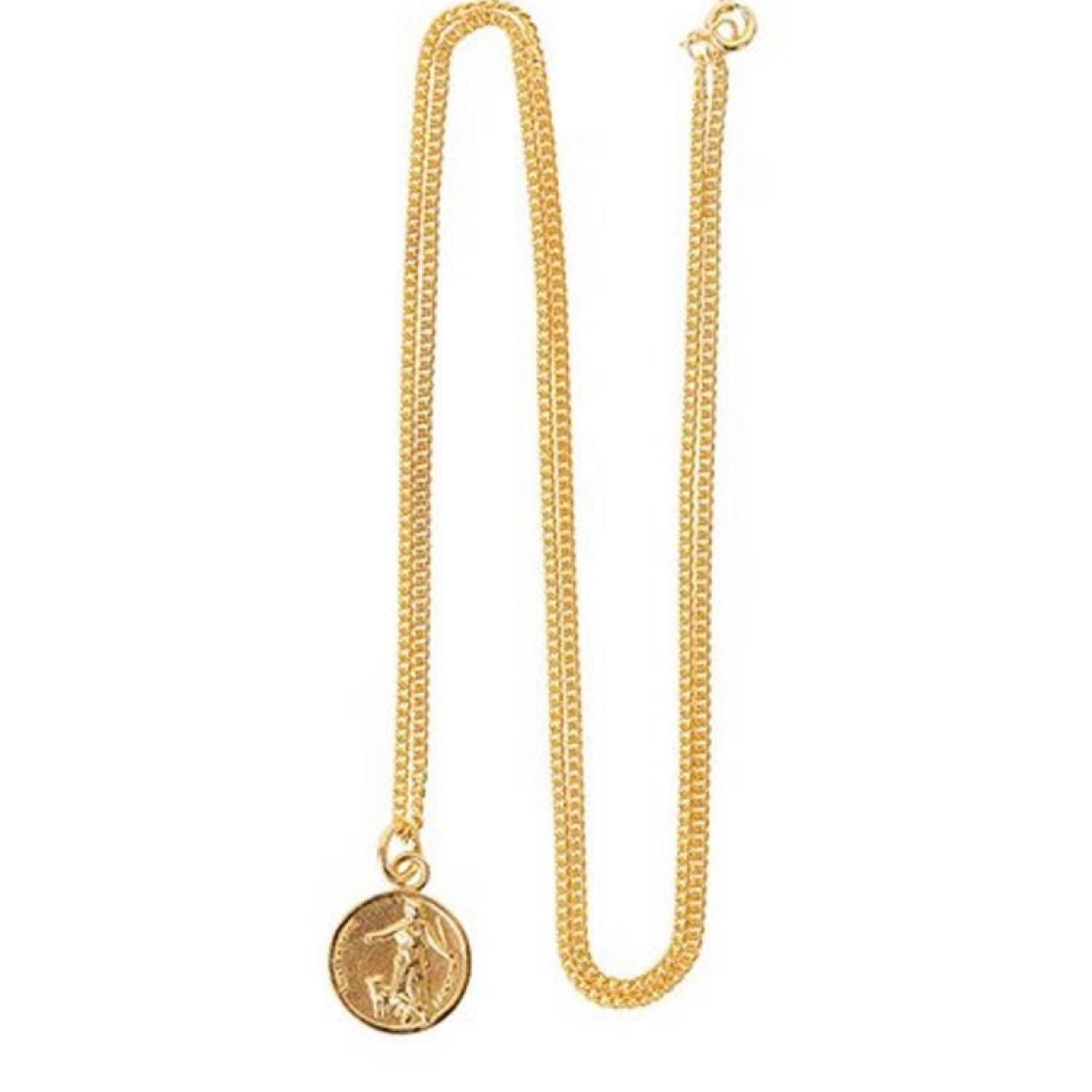 Palace Coin Pendant Gold
