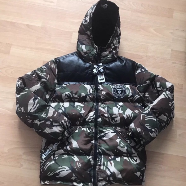 Aape By Bathing Ape Reversible Puffa Jacket