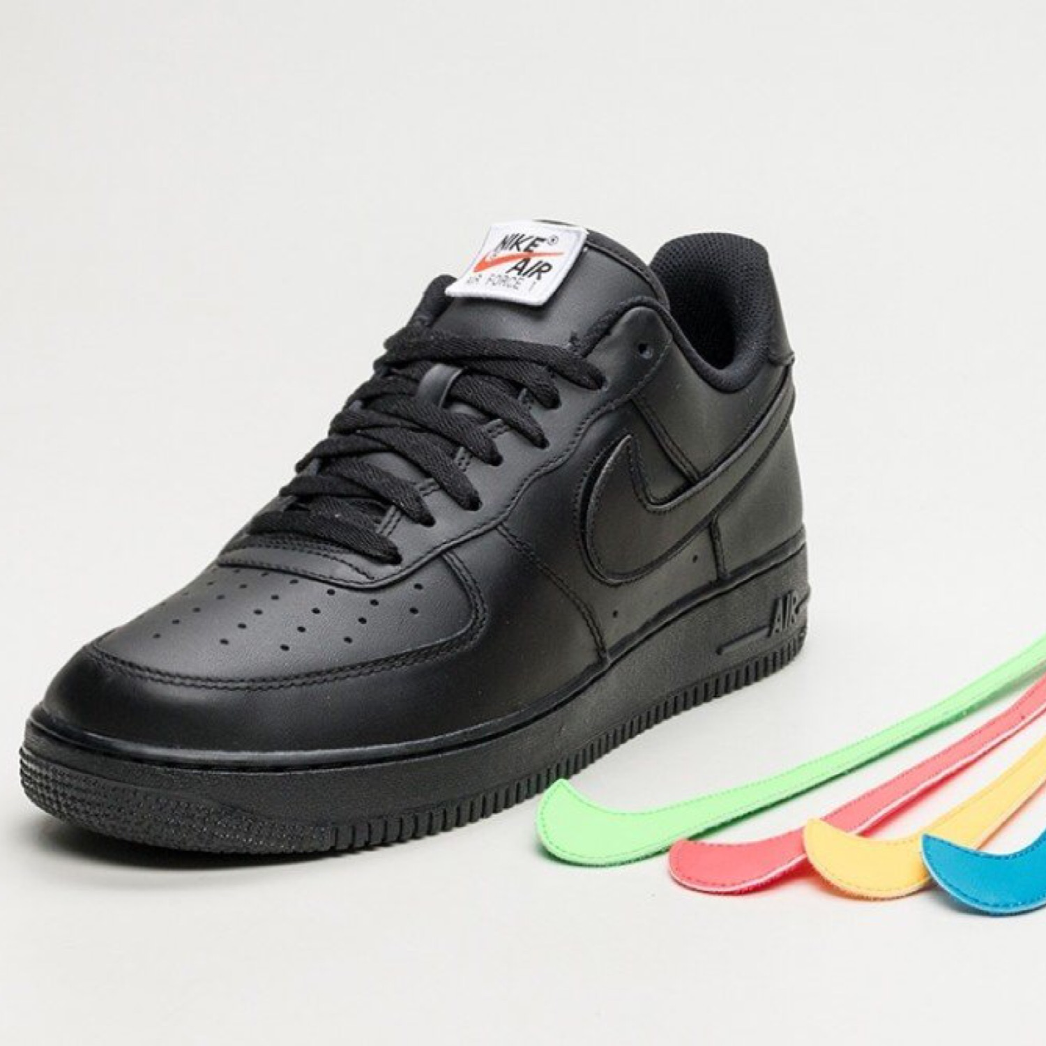 Nike Removable Swoosh 1 Black Pack Air Force DWIE9H2
