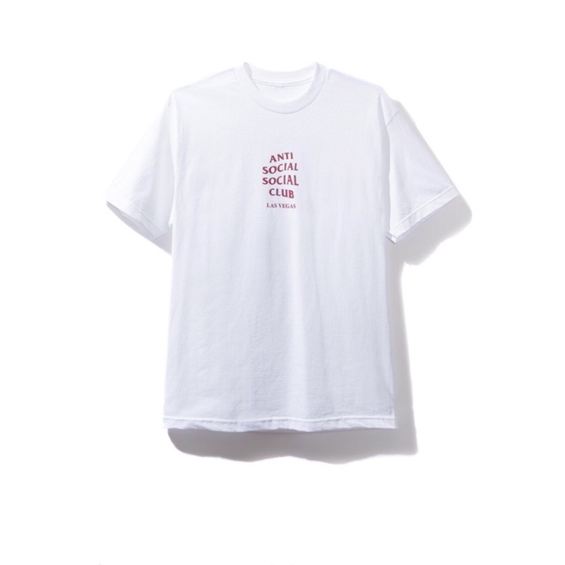 Anti Social Social Club Las Vegas WhiteTee