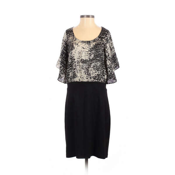 Collective Concepts Women Black Casual Dress S