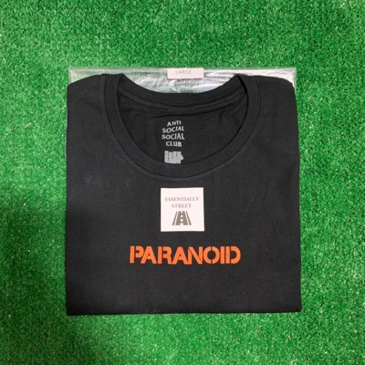 Assc X Undefeated Paranoid Tee L