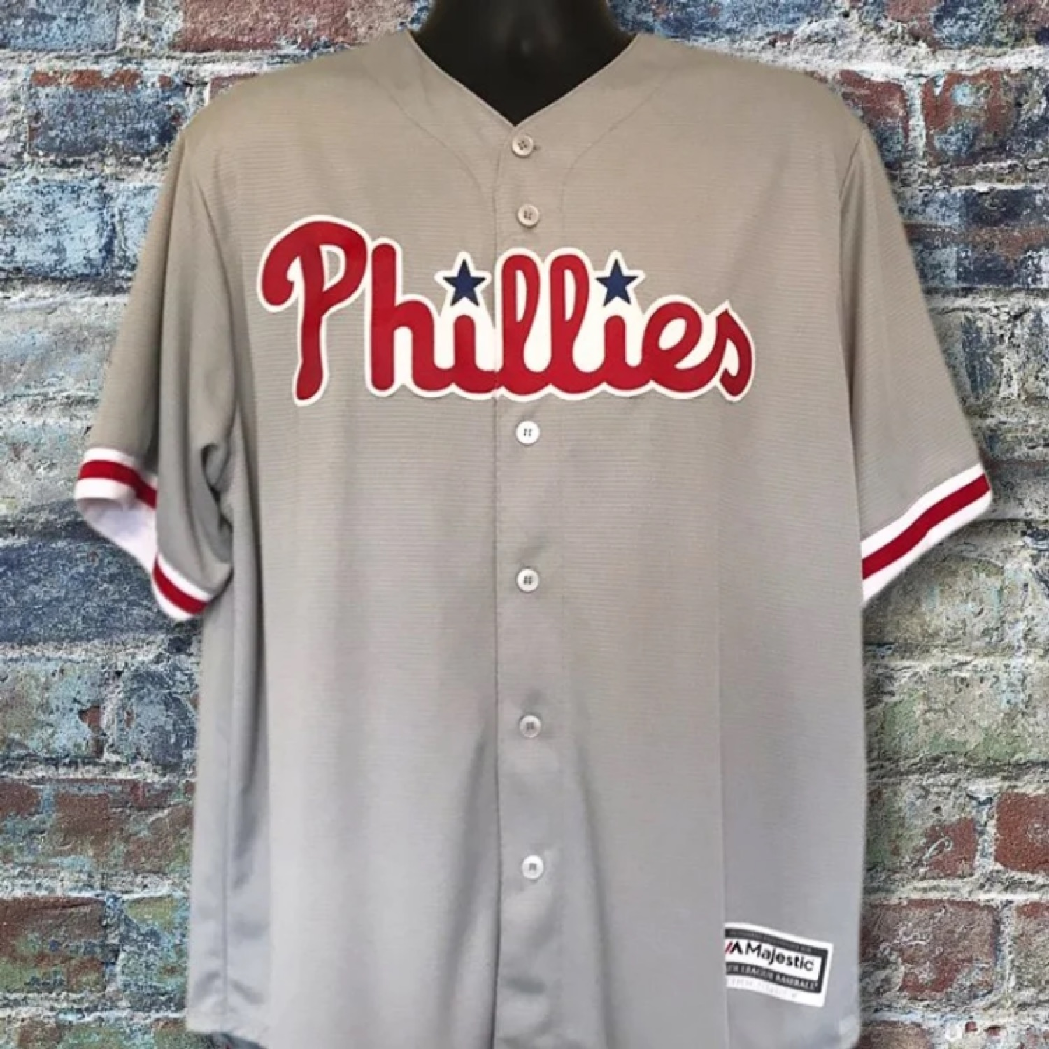 premium selection ca79f f8d2d Majestic Mlb Phillies Baseball Jersey