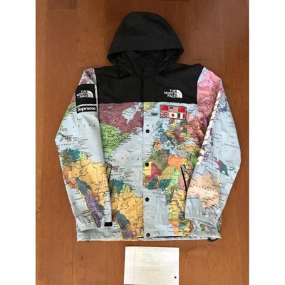 Supreme Expedition Map Coaches Jacket
