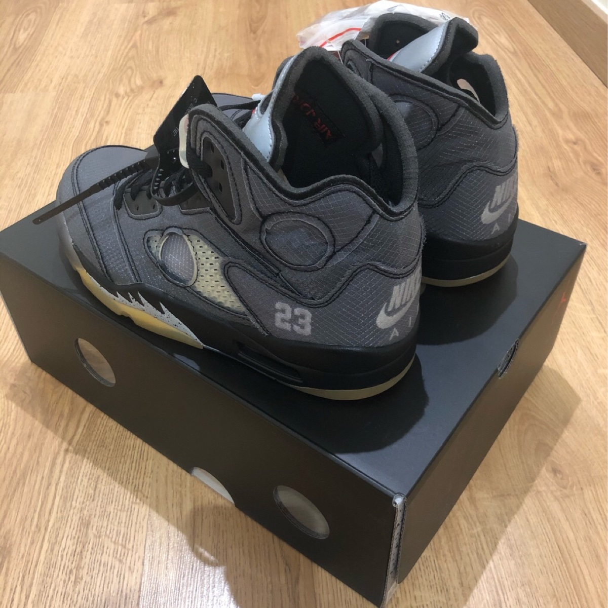 Jordan 5 Retro Off-White Black