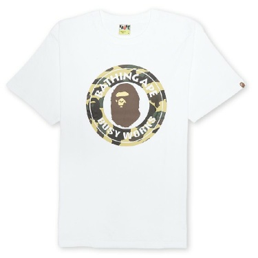 A Bathing Ape  1st Camo Busy Works Tee Size Large