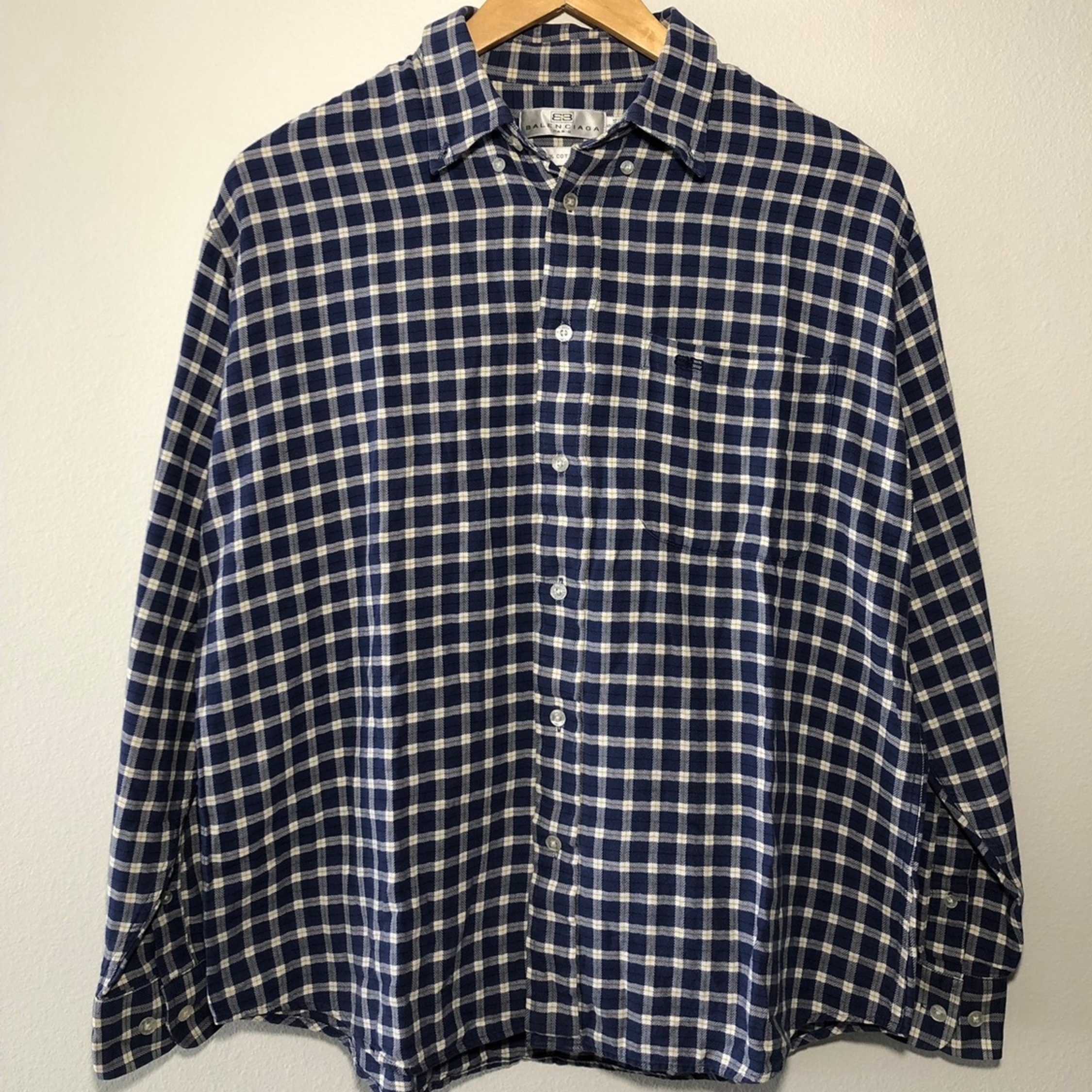 Vintage 90s Stussy Short Sleeve Button Down Gingham Made in USA Shirt L