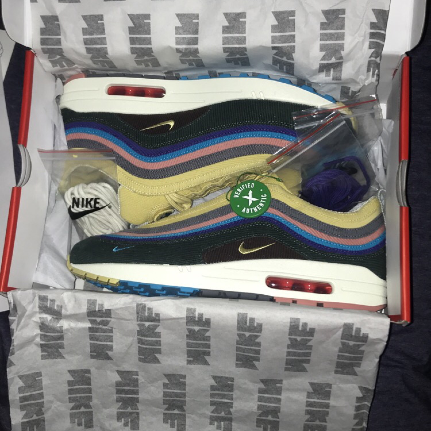 official site large discount discount Nike Air Max 97/1 Sean Wotherspoon