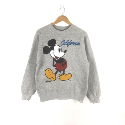 Vintage Mickey Mouse Medium Size Sweatshirt