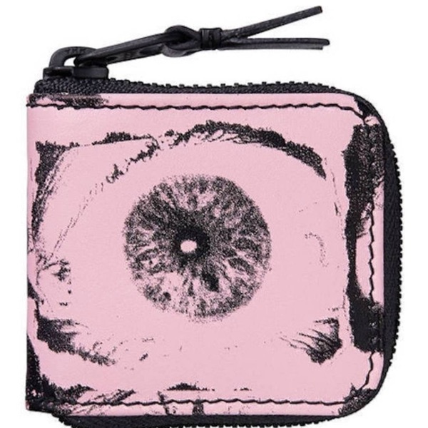 Supreme X Comme Des Garcons Eyes Pouch Pink New