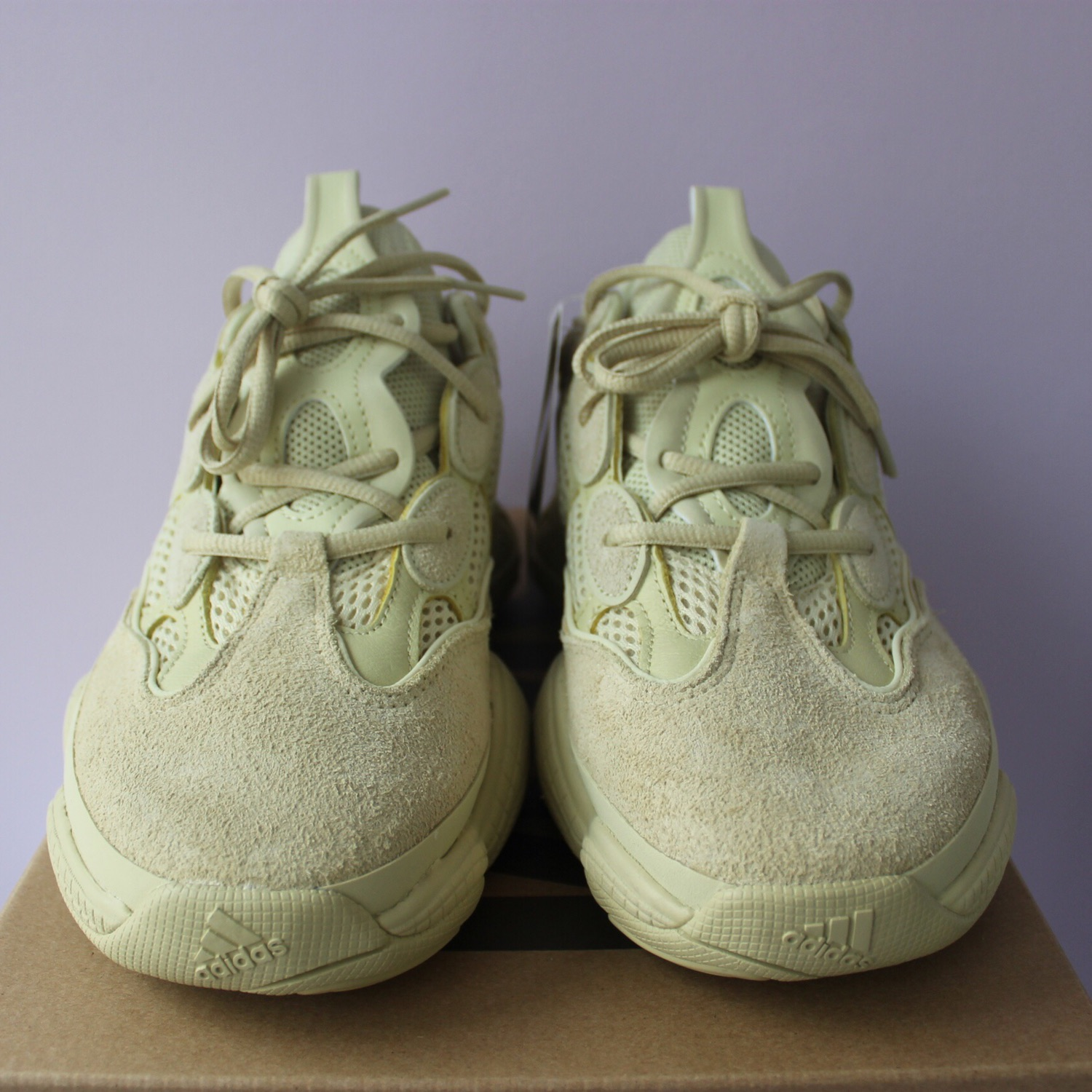 premium selection baf22 3c457 Adidas X Kanye West Yeezy 500 Supermoon Yellow