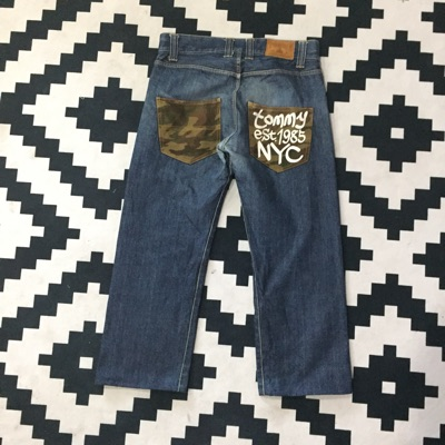 Tommy Camouflage Denim