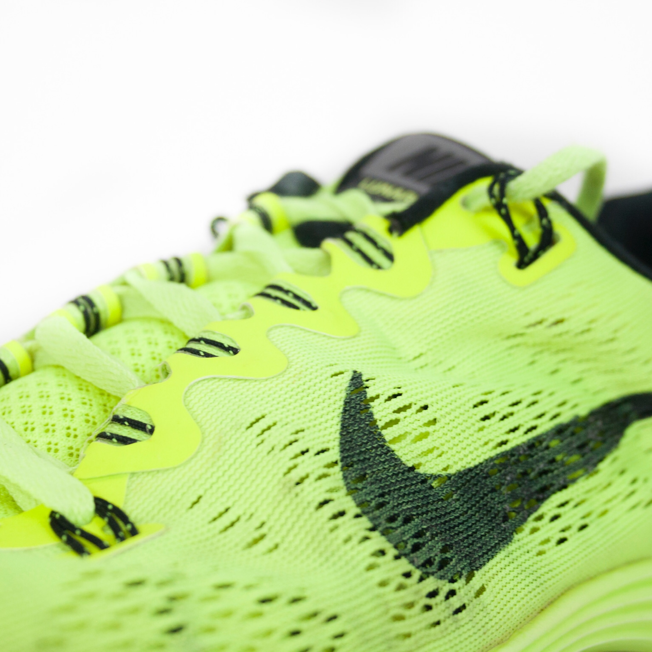 Fluorescent Yellow/Green Nike Trainers