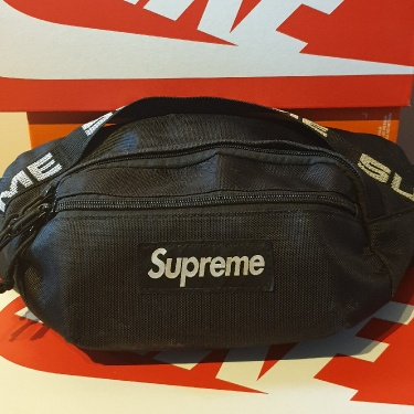 Supreme Waist Bag (SS18) Black