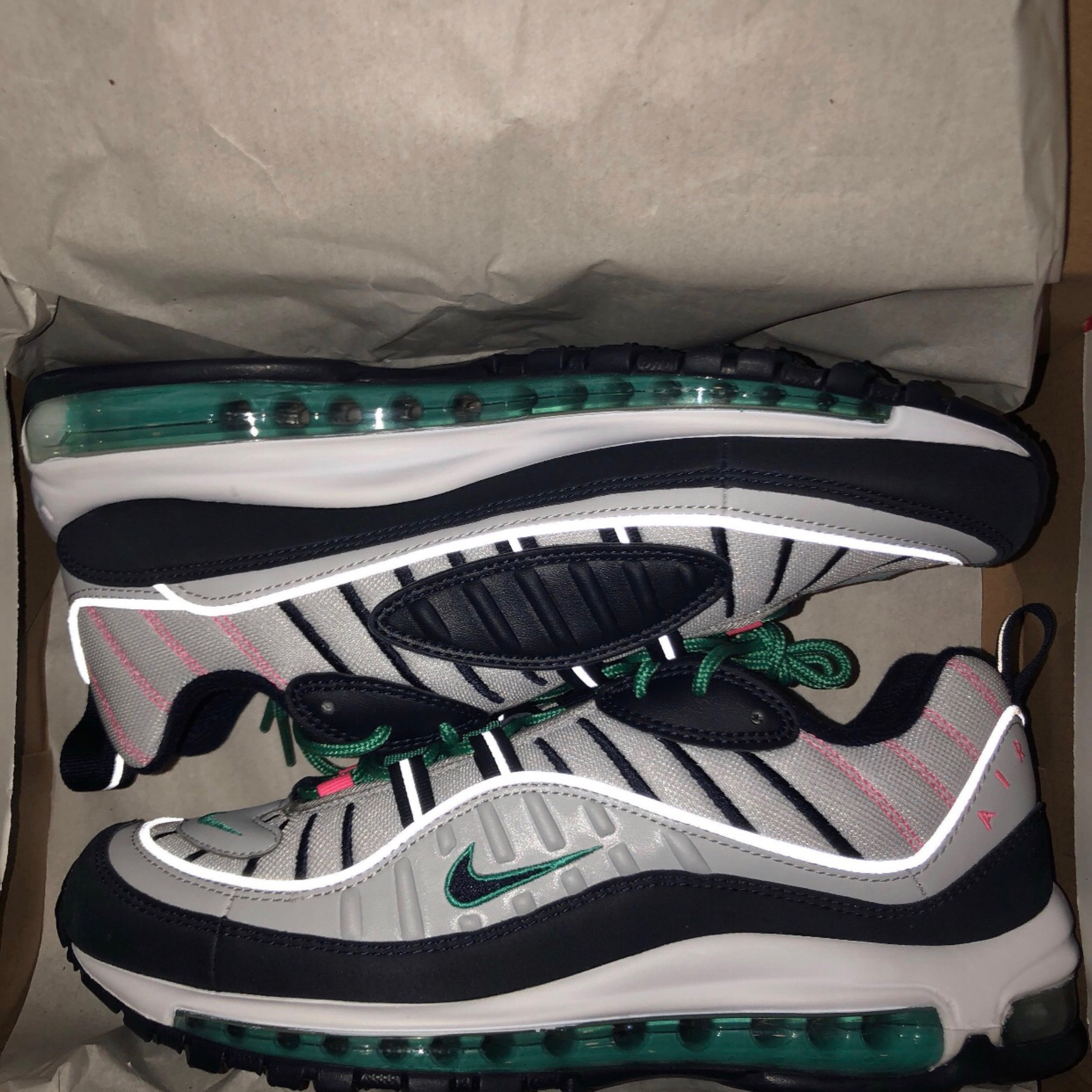 best website a2482 7fa40 Nike Air Max 98 South Beach, Tidal Waves, 'Miami'