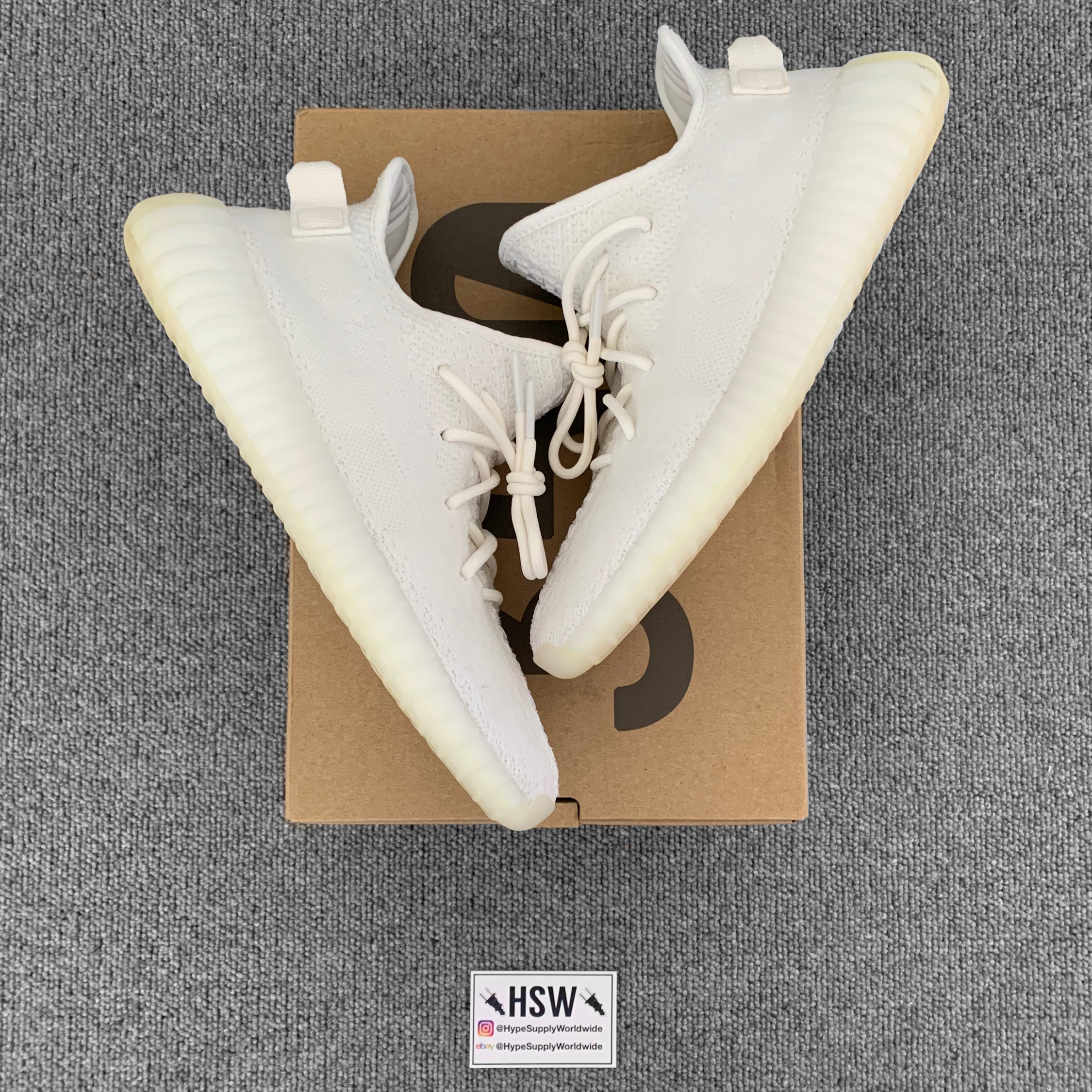 new style 6df4b d488a Adidas Yeezy Boost 350 V2 Cream White Uk 9.5
