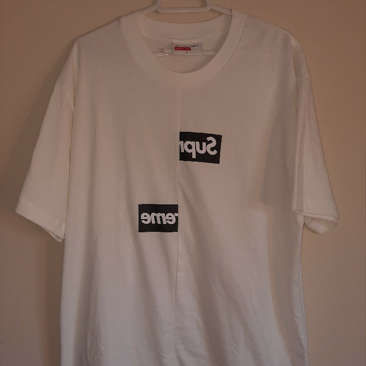 Supreme Comme des Garcons SHIRT Graphic S/S Shirt White