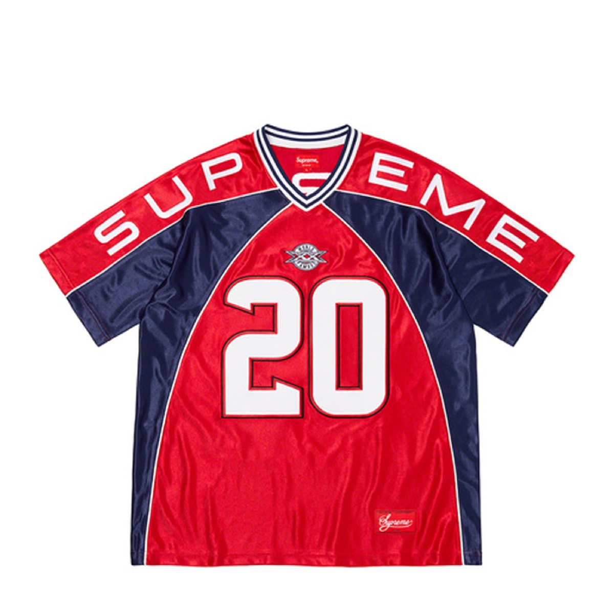 Supreme Paneled Jersey Red