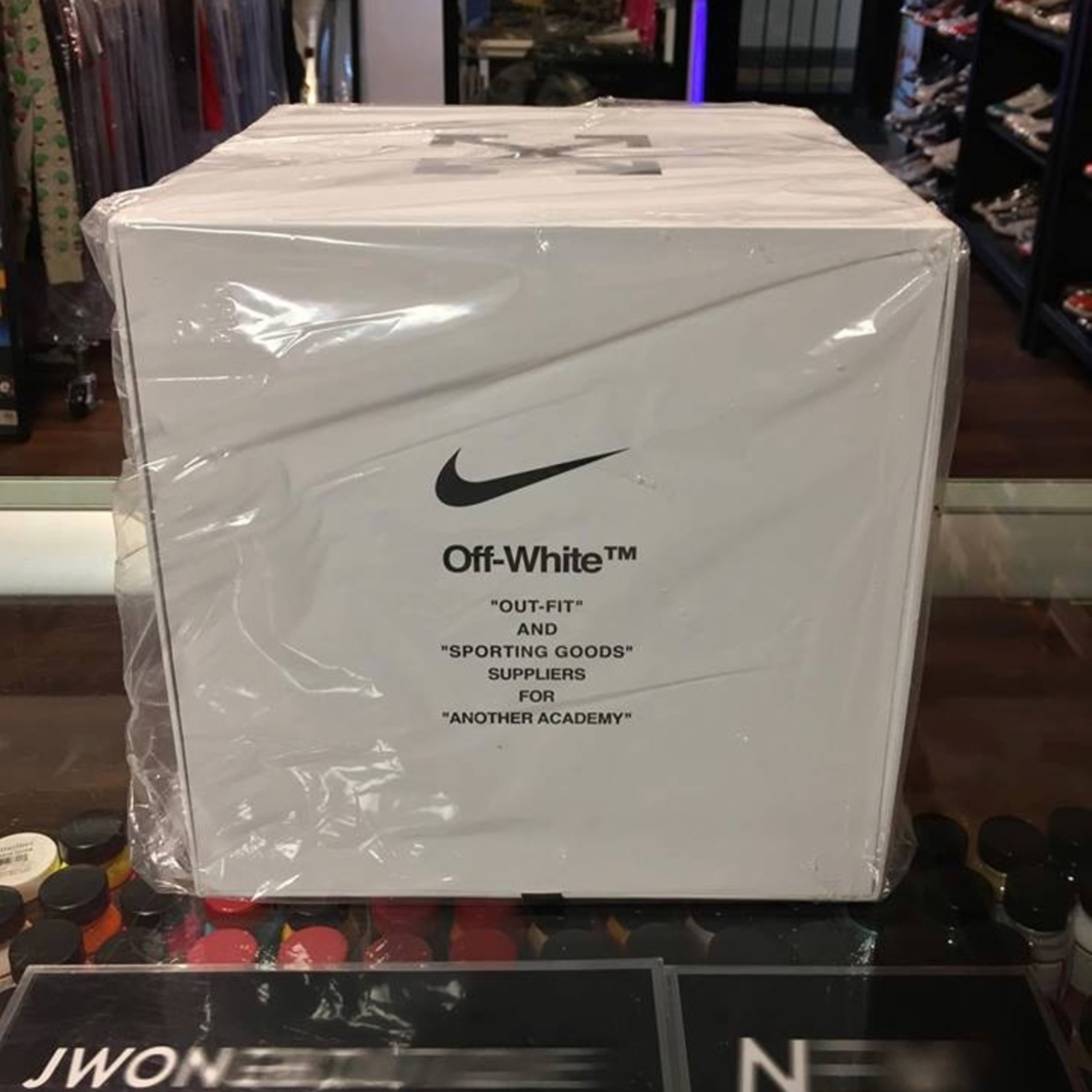 Nike X Off White Soccer Ball White Size 5 New