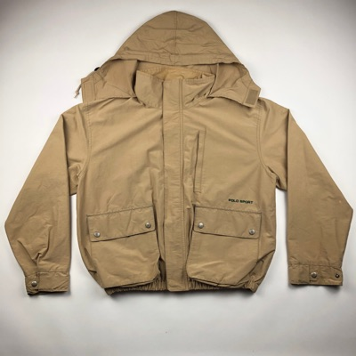 Vintage Polo Sport Spell Out Mountain Light Jacket
