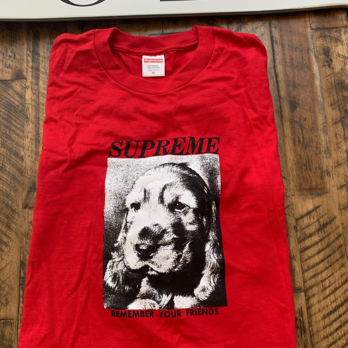 Supreme Remember Tee Red