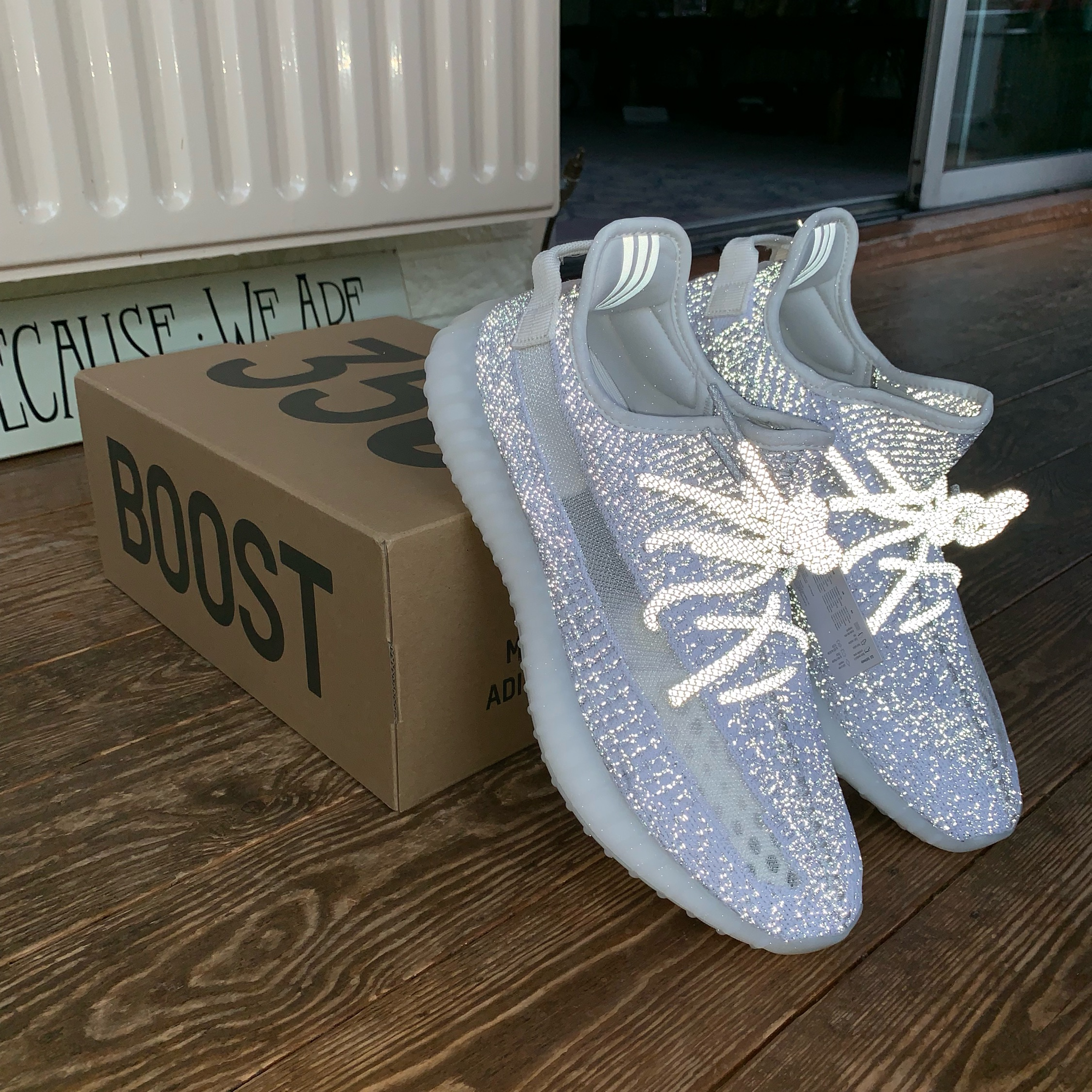 c95a506535bb2 Adidas Yeezy Boost 350 V2 Static 3M Reflective 11