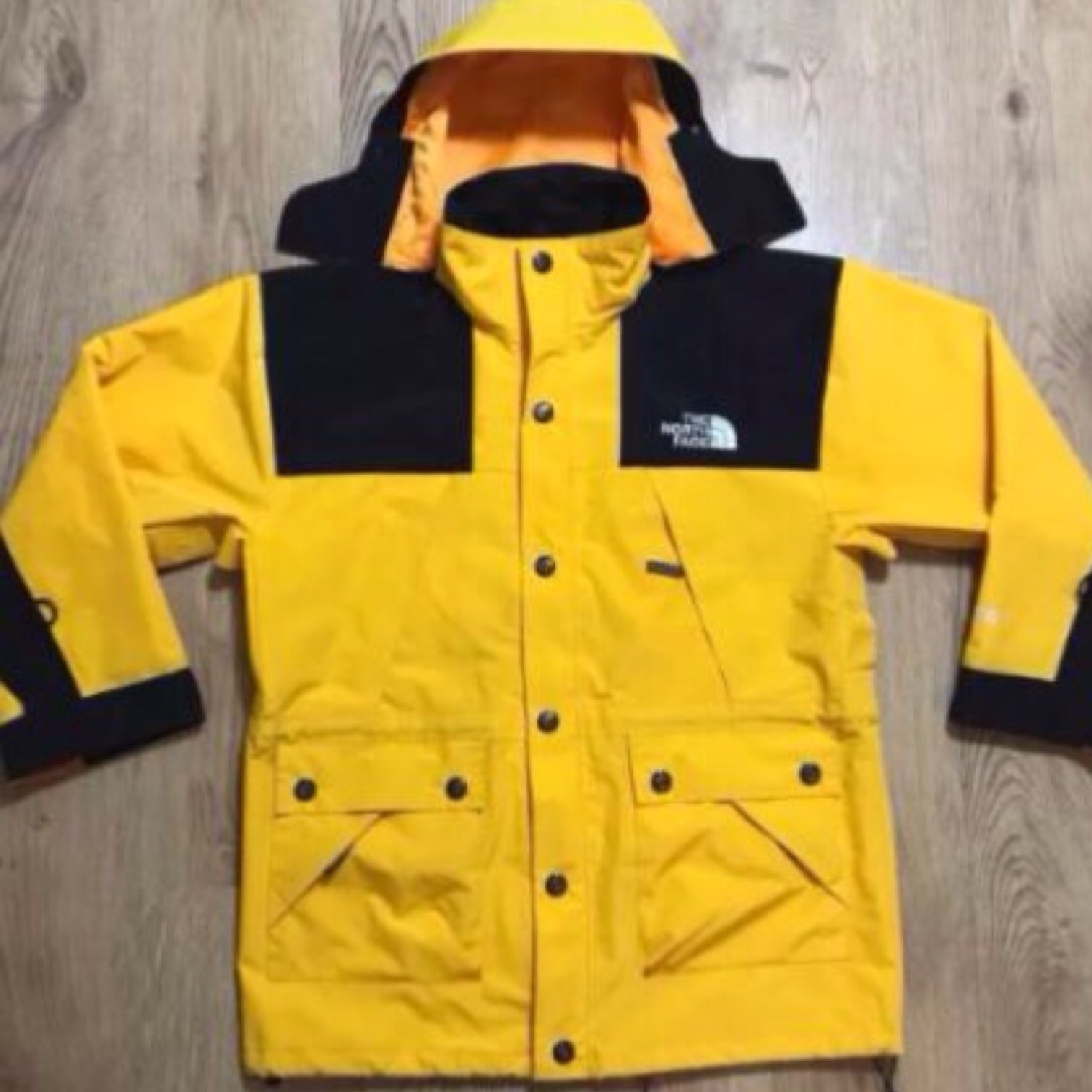 fbf953548 The North Face Gore-Tex Yellow/Black