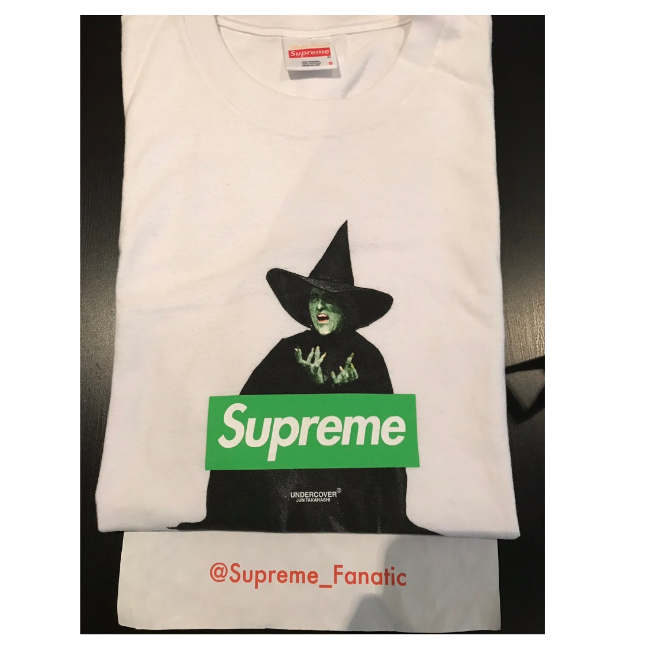 Supreme X Undercover Witch Box Logo Bogo Tee