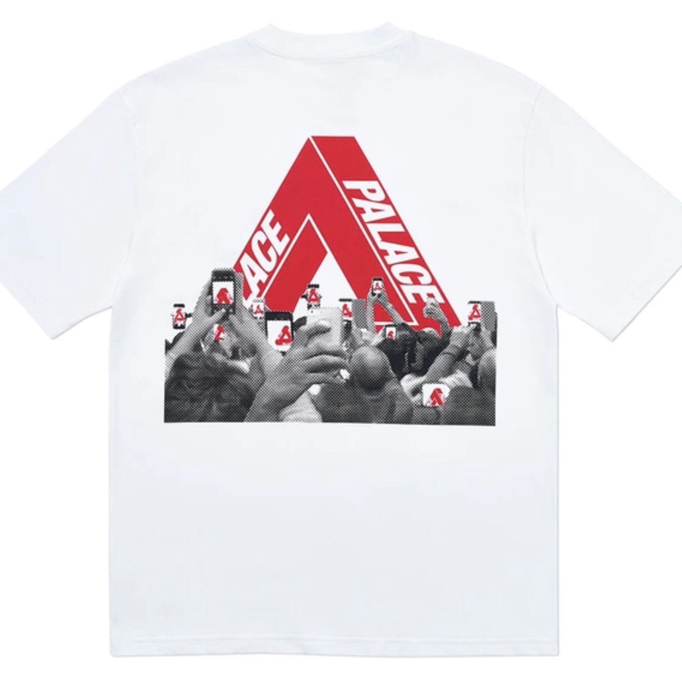 Palace Tri-Phone Tee White