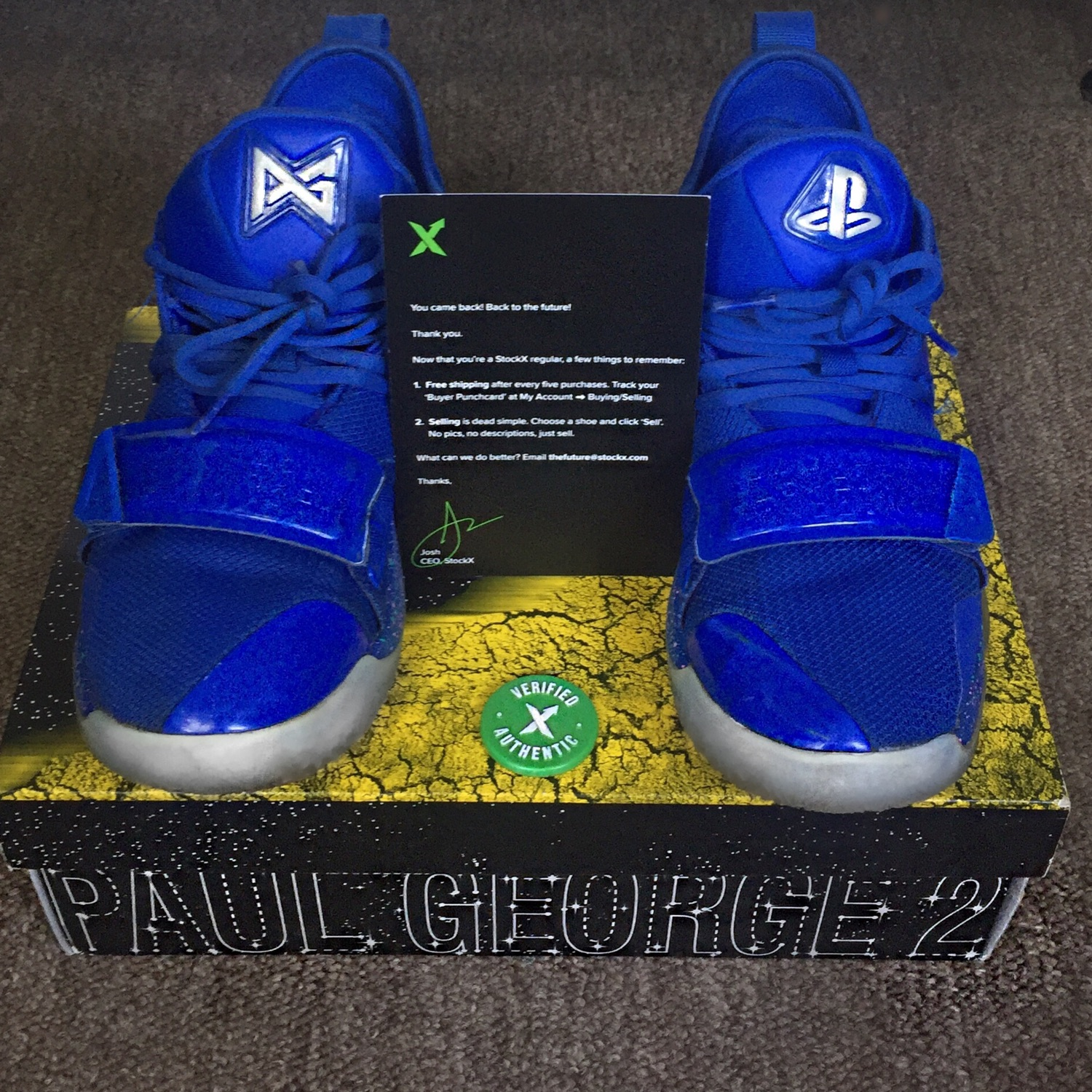 the best attitude 540e0 8ff49 Nike Paul George Pg 2.5 X Playstation (Steal!)