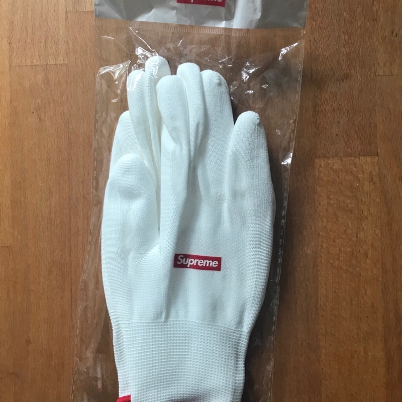 Supreme rubberized Gloves // Gift FW20