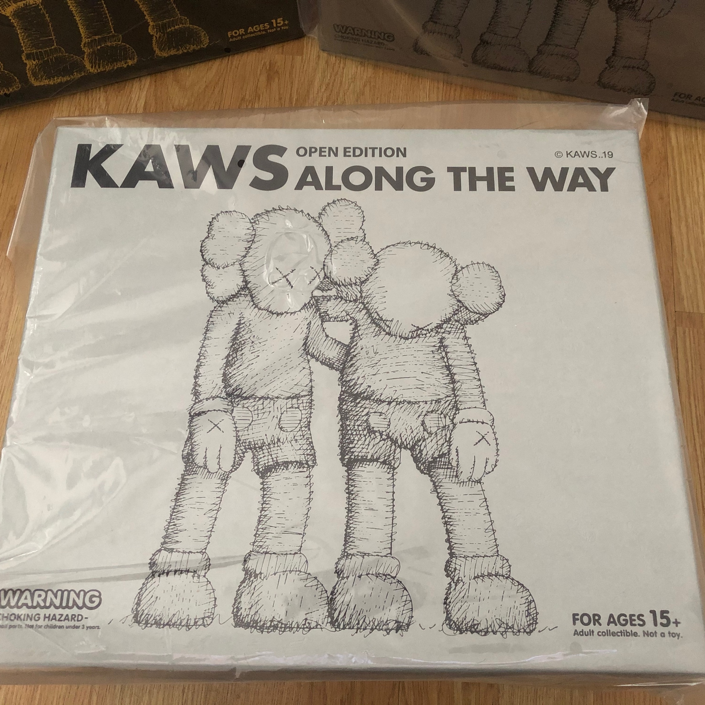 Kaws Along The Way (Grey) Vinyl Figure