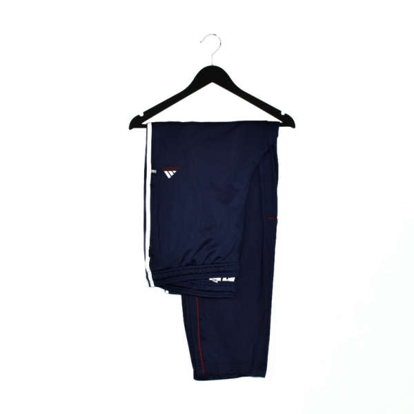 Vintage Adidas track pants tracksuit bottoms trousers in blue
