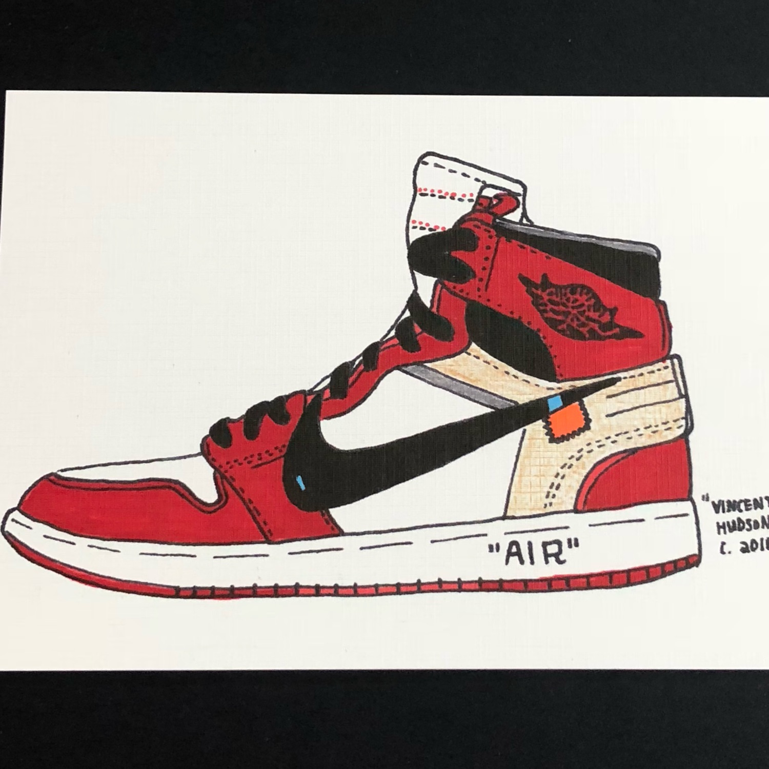 finest selection b2af9 57a2d Off White Nike Air Jordan 1 Chicago 1S Offwhite