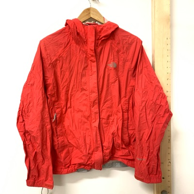 The North Face Red Waterproof Jacket
