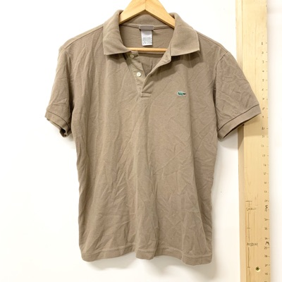 Vintage Lacoste Brown Polo T Shirt