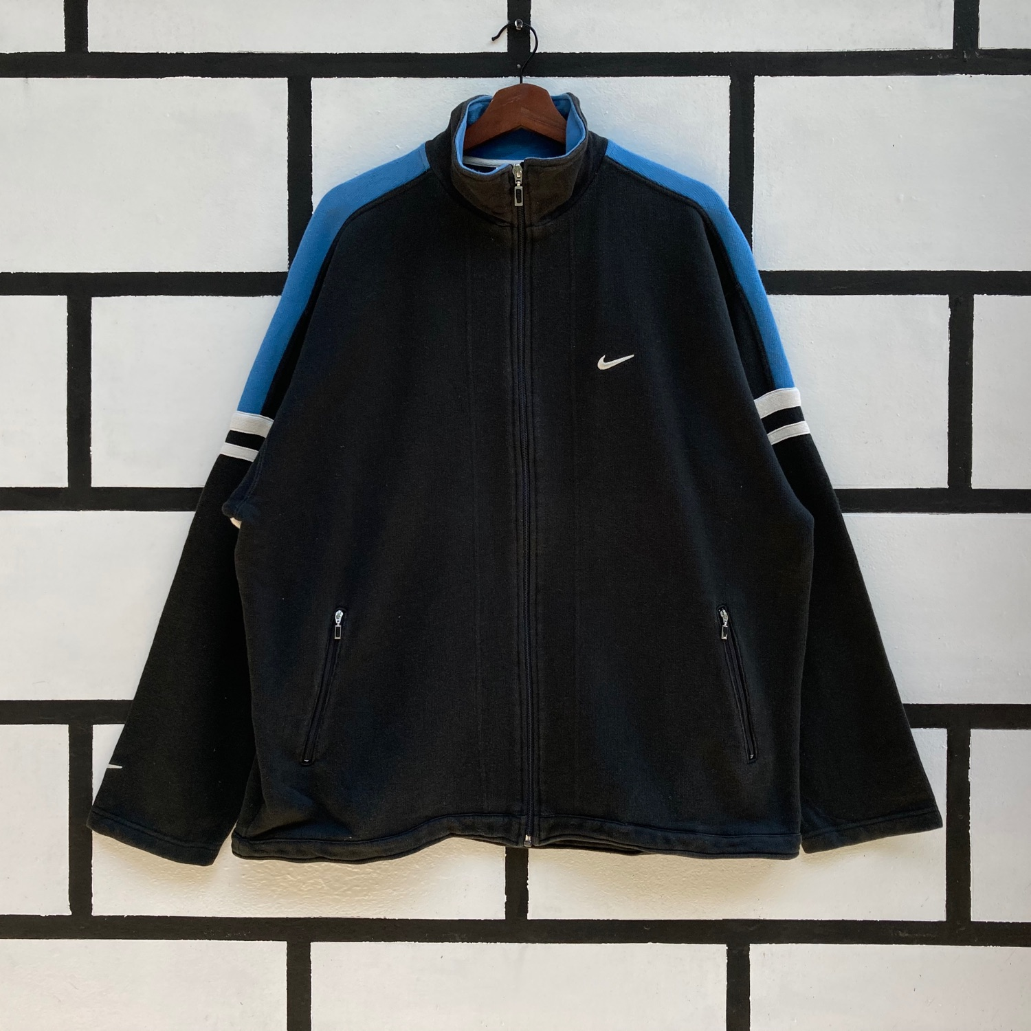 Vintage Nike Sweater Full Zip Up Small Logo