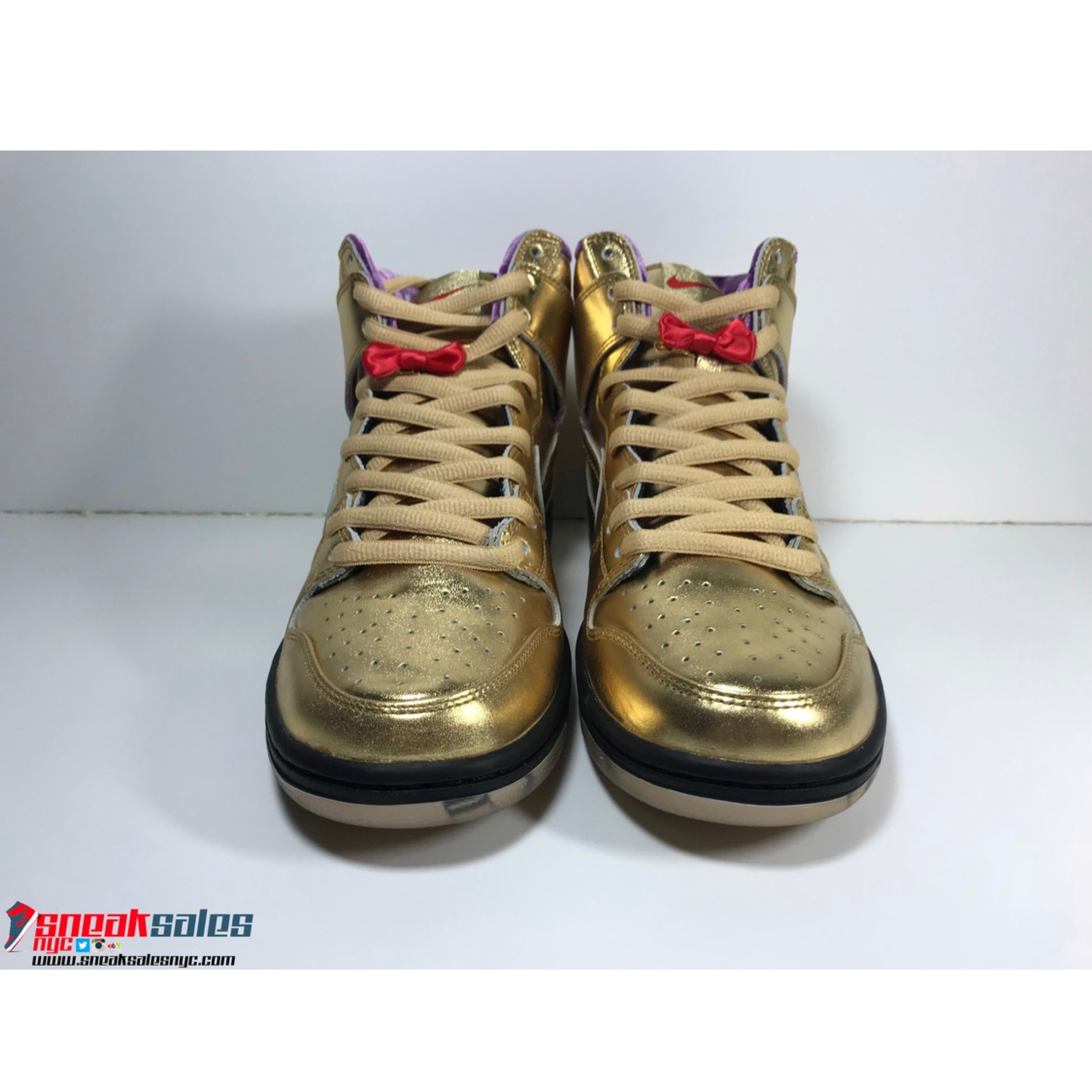sale retailer 61431 115ac Nike Sb Dunk High Humidity Gold Size 13