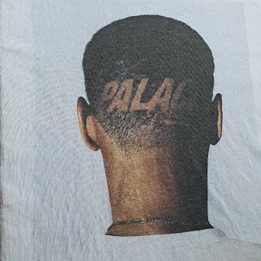 Rare SS18 Palace Trim white tee size XXL Haircut T-shirt 2XL